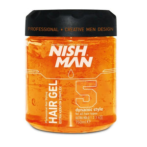 NISHMAN Styling Gel Ultra Hold 750 ml
