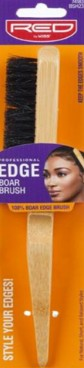 RED BY KISS PROFESSIONAL EDGE BOAR BRUSH