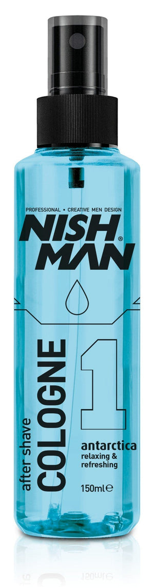 Nishman After Shave Cologne 01 Antarctica 150 ml