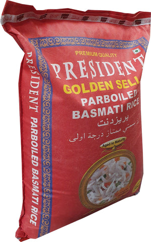 Rice Basmati Parboiled President New Packing 20 kg