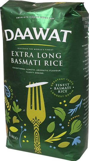 Daawat Extra Long Basmati Rice 1 kg