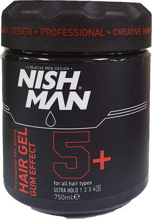 Nishman Hair Gel Gum Effect 750 ml