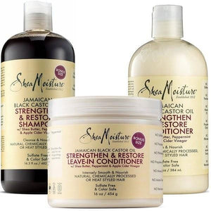 Shea Moisture Jamaican Black Castor Oil Set