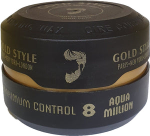 Gold Style Aqua Million Hair Styling Wax 8 150 ml