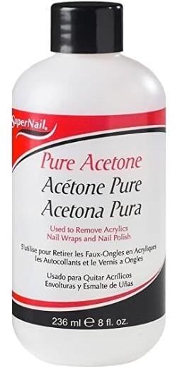 Super Nail Pure Acetone 236 ml