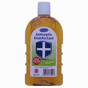 Dr Johnson's antiseptic disinfectant kills 99.9% of bacteria 500 ml