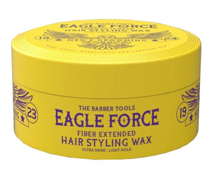 Eagle Force Fiber Extended Hair Styling Wax Ultra Ultra Shine Light Hold 150 ml