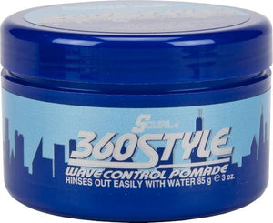 S-Curl 360 Style Wave Control Pomade