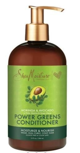 Shea Moisture Moringa and Avocado Power Greens Conditioner 384 ml