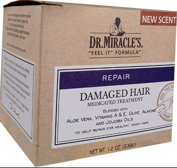 Dr. Miracles Repair Damaged Hair Medicated Treatment 339 g