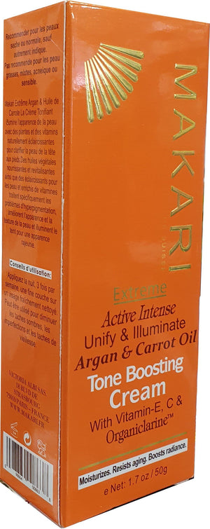 Makari Extreme Active Intense Argan and Carrot Oil  Toning Cream 50 g