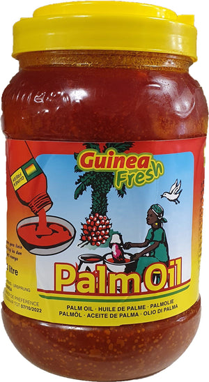 Guinea Fresh Palm Oil 3 liter
