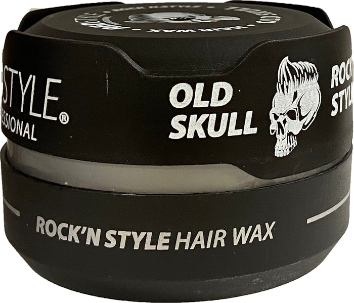 Red Style Rock'n Old Skull Clay Hair Wax 150 ml