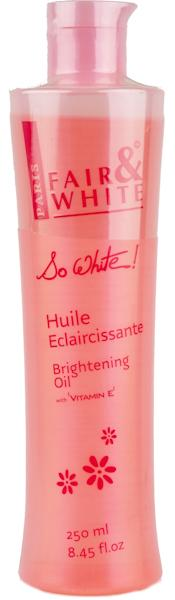 So White! F&W Brightening Oil 250 ml