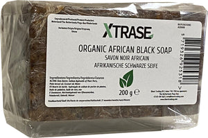 XTRASE Organic African Black Soap 200 g