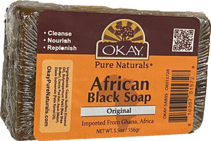 African Black Soap - OKAY Pure Naturals African Black Soap 156 g