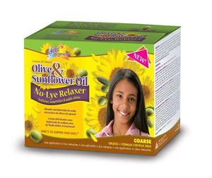 Sofn'Free N'Pretty Olive & Sunflower Relaxer Kit super