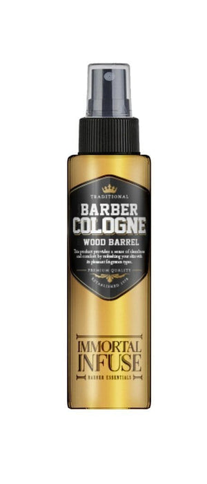 Immortal Infuse Barber Cologne Wood Barrel 150ml