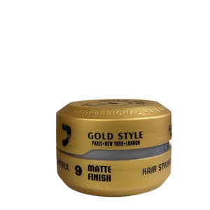 Gold Style Styling Wax 9 Matt Finish 150 ml