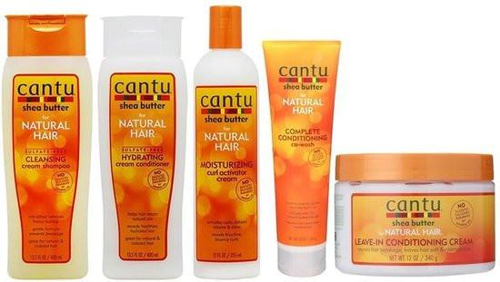 Cantu Natural Hair set 5 pieces