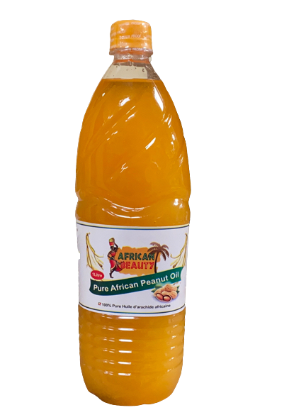 African Beauty Pure African Peanuts Oil 1 liter