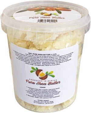 African Natural Pure Shea Butter Ghana 1 kg (2 potten van 500 g) - Africa Products Shop