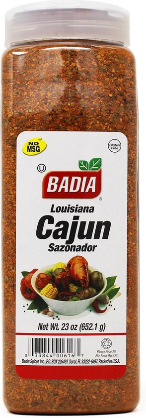 Badia Louisiana Cajun Seasoning 652,1g - Africa Products Shop