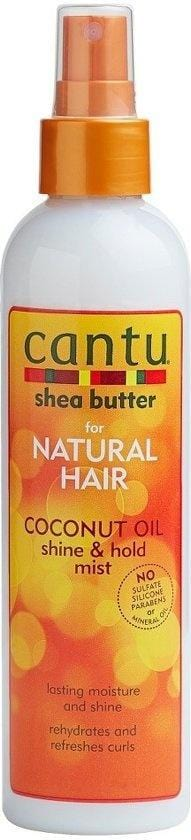 Cantu Natural Hair Coconut Oil Shin and Hold Mist 249 m - Africa Products Shop