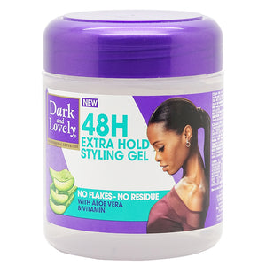 Dark Lovely 48H Extra Hold Styling Gel 450 ml - Africa Products Shop