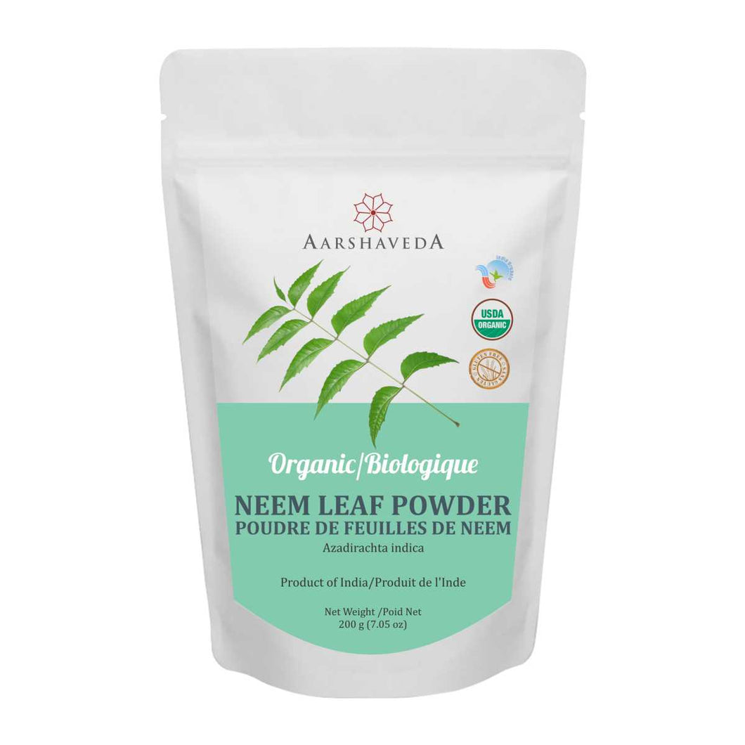 Organic Neem leaf Powder - 200Gms
