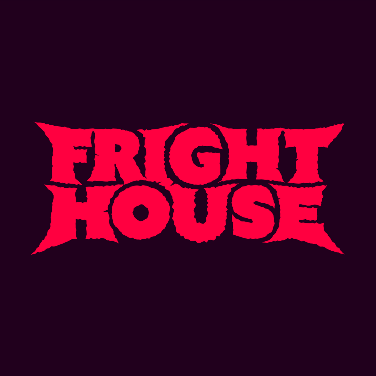 Scary logo reading Fright House