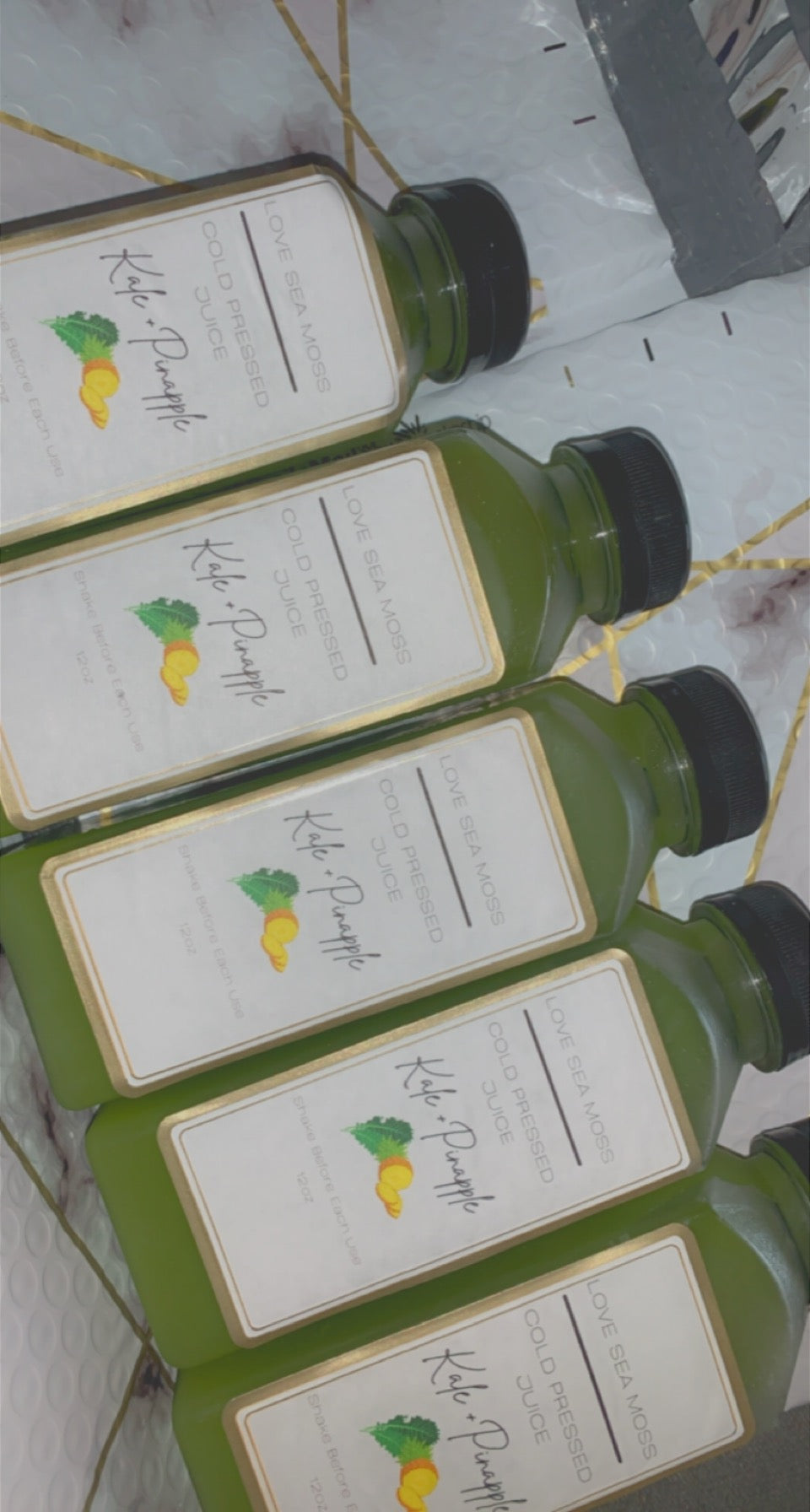 5 Green Juice Package | 12oz