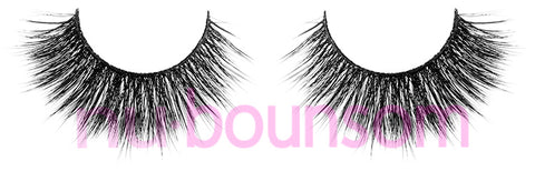 nubounsom russian black 3d silk false eyelashes