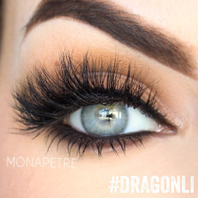 Dragon Li 3d Mink Eyelashes From Nubounsom