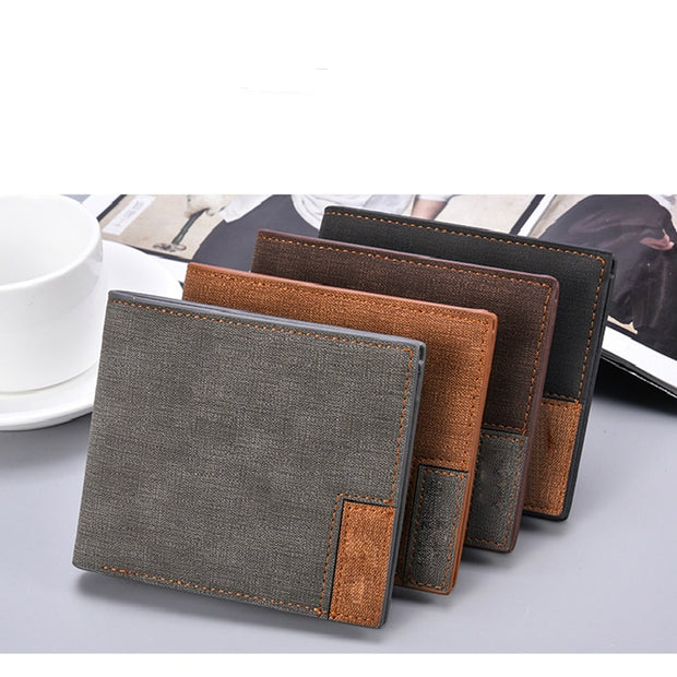 Vintage Slim Wallet For Men