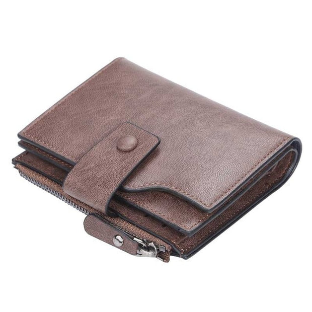 Fashion Coin Purse Leather Wallet