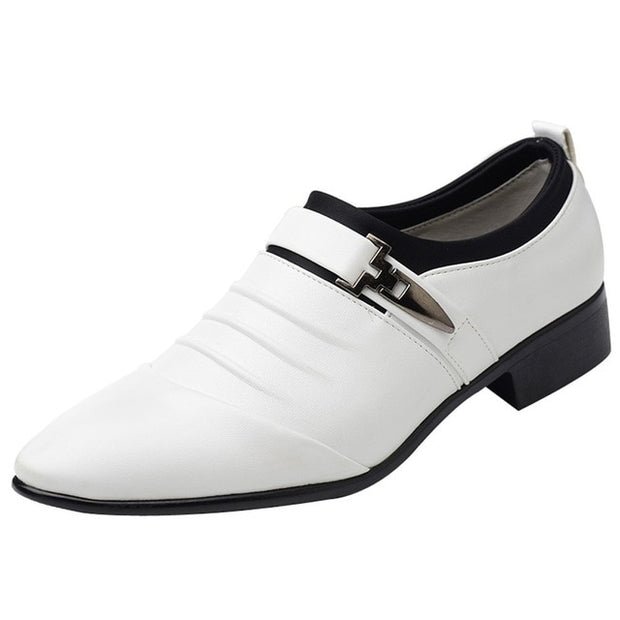 Men's British Leather Toe Shoes