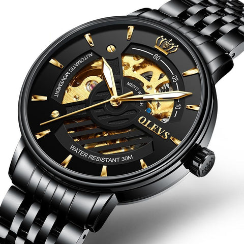 Mechanical Luxury Men's Wristwatch