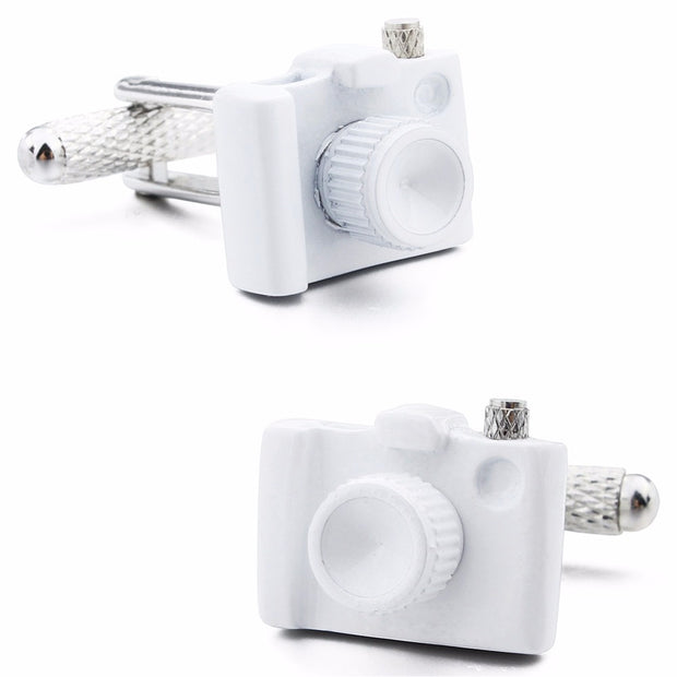 Digital Camera Style Cufflinks