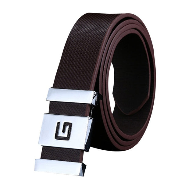 Unisex Automatic Buckle Belt