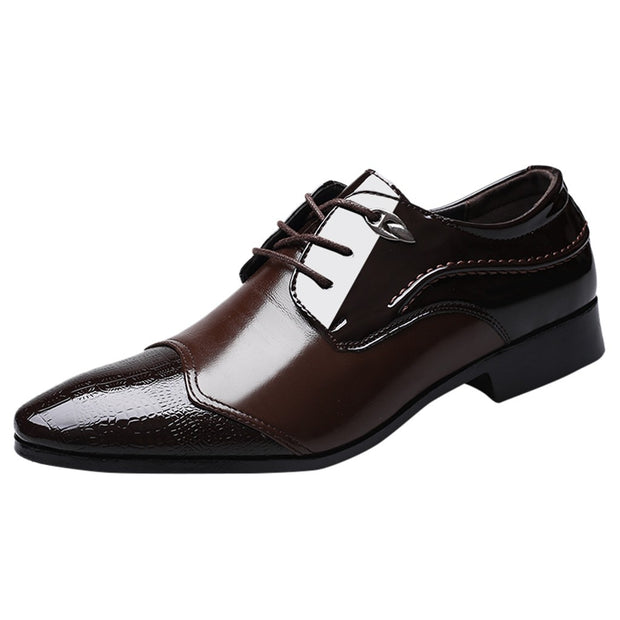 Classic Leather Men's Suits Shoes