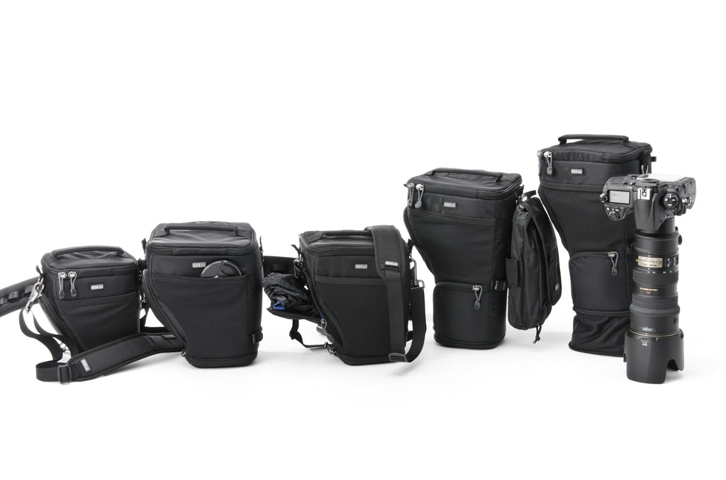 digital holster photography cases for dslr cameras on shoulder or