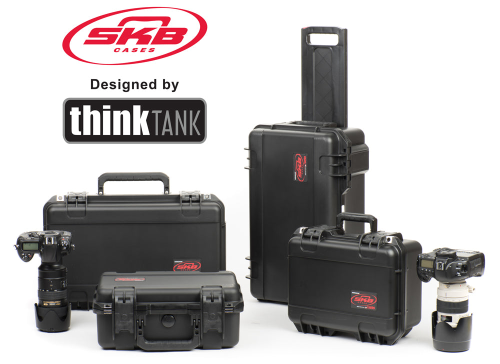 SKB Hard Cases with Interiors Designed by Think Tank