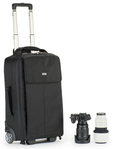 The Airport Advantage Plus Rolling Camera Bag Maximizes Camera Gear for International Flights