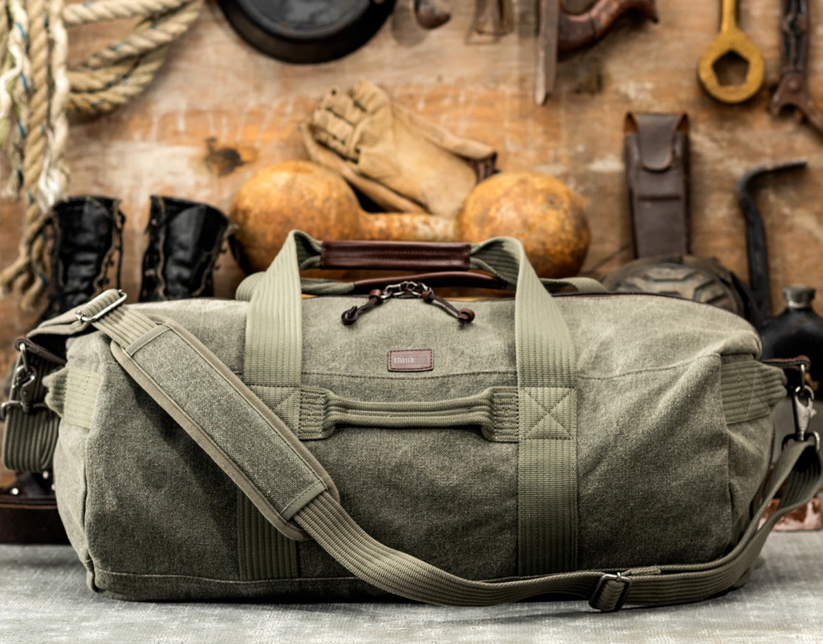 Stone-washed 100% cotton canvas is soft and rugged with a refined appearance