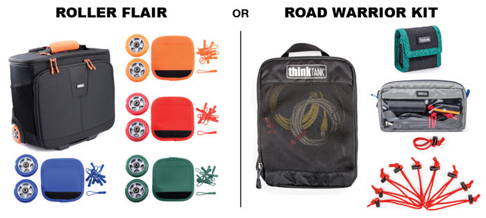 Get free Roller Flair or Road Warrior Kit with any Roller Purchase