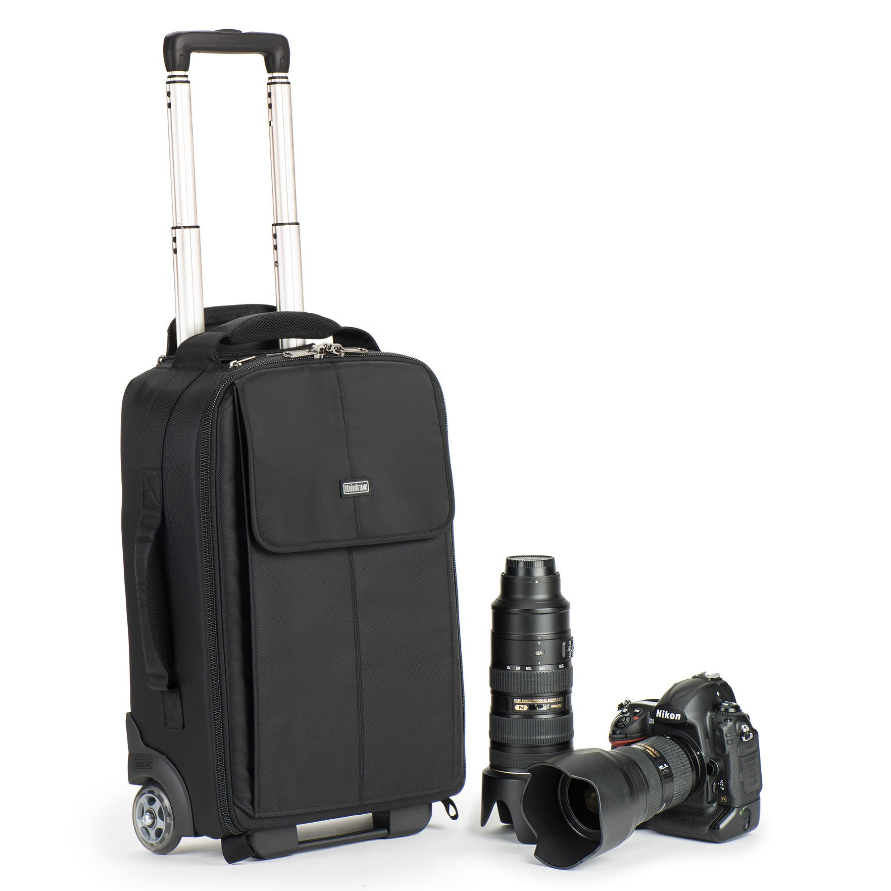 Specially designed interior to maximize gear for carry on for small aircraft such as commuter and regional jets. Meets U.S. and international airline carry on requirements