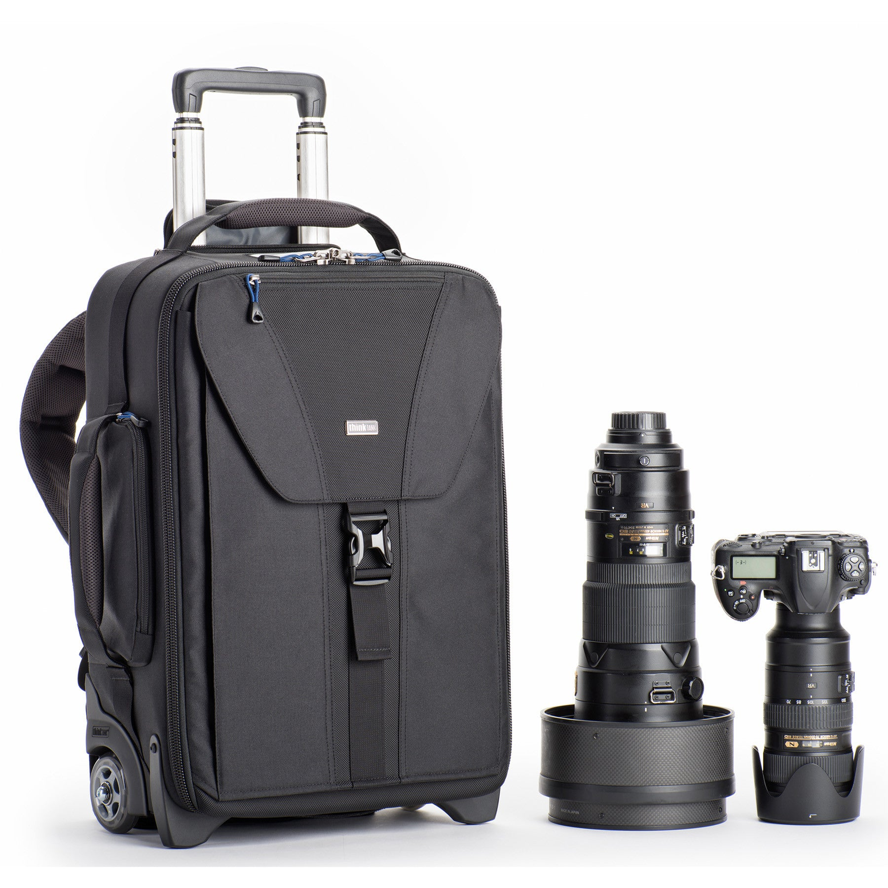 Airport TakeOff V2.0 is a roller bag that converts to a backpack.