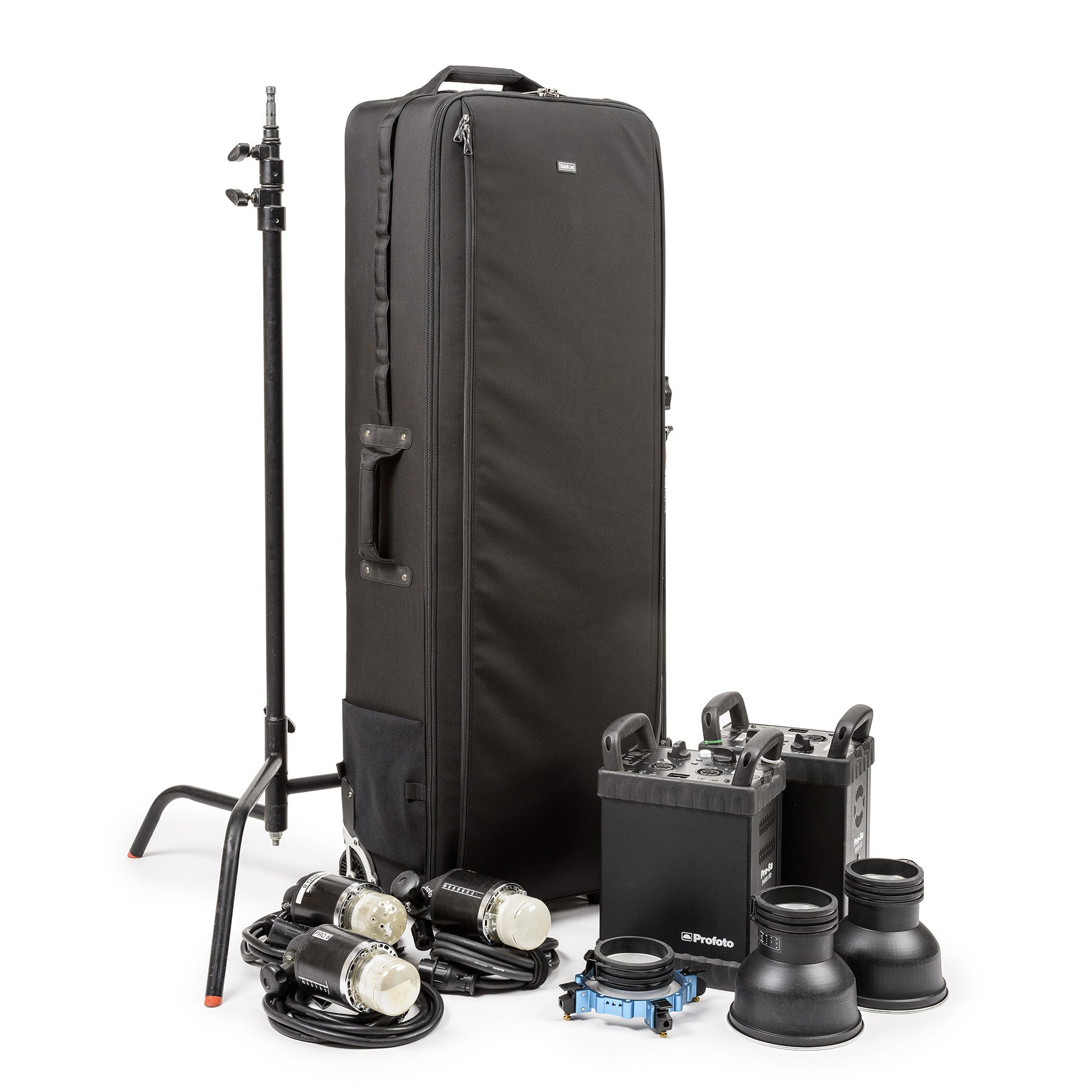 Fit Lighting Equipment and Large Light Modifiers in One Rolling Bag with the New Production Manager