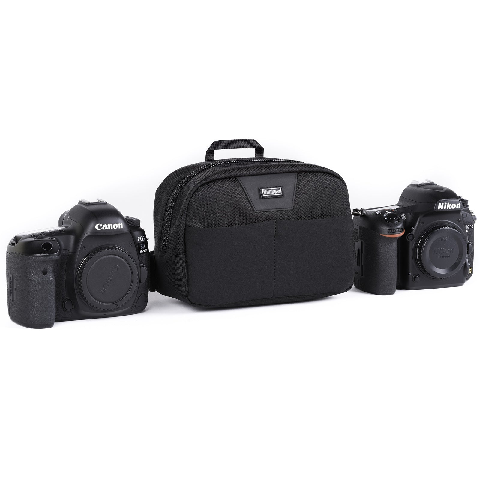 c15cf680e2b Slim organizer belt pouch for small lenses, accessories or an ungripped  DSLR body Magnify